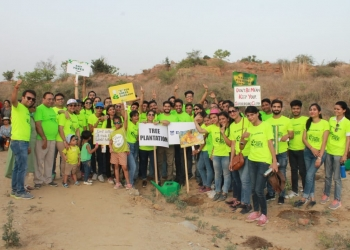 TREE PLANTATION - SAVE EARTH