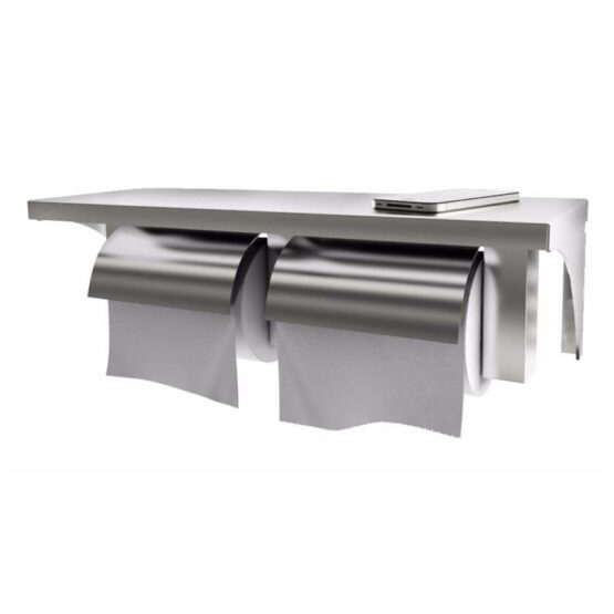 EPH 06P Twin Toilet Paper Holder