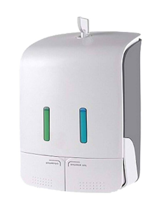 mannual dual soap dispenser