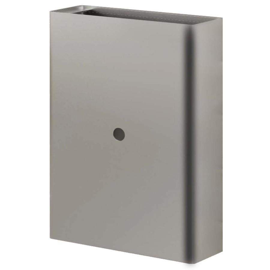 euronics steel waste receptacle