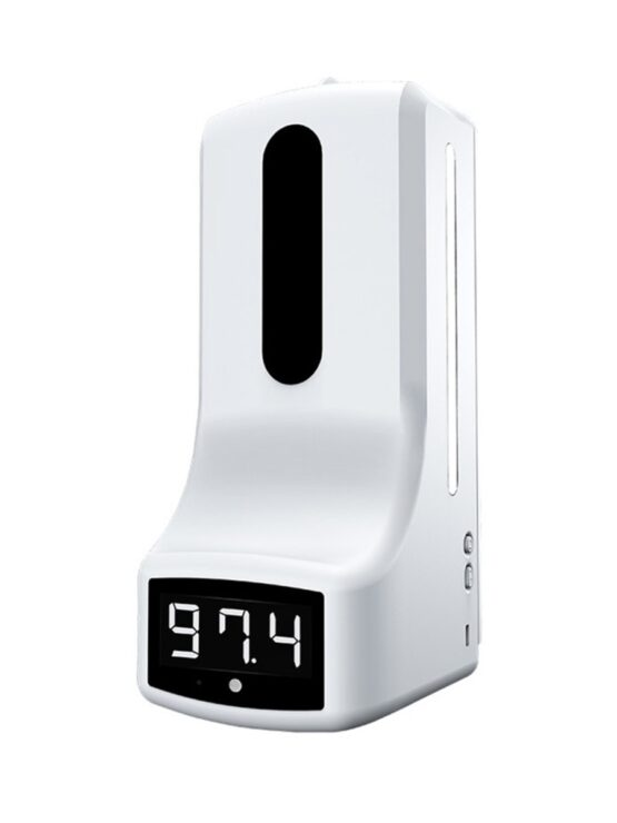 Contact-Less Thermometer with Dispenser